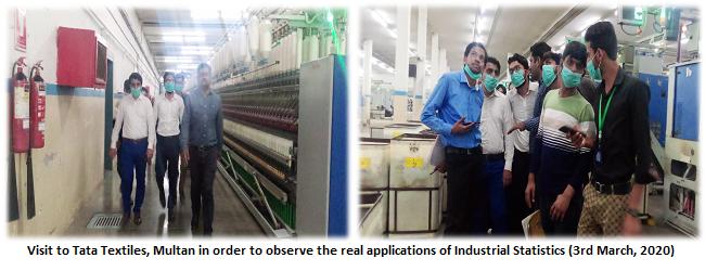 Students Trip: Tata Textile