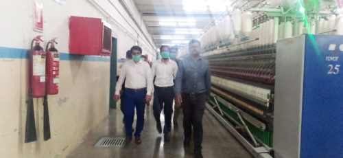 Visit to Tata Textiles, Multan in order to observe the real applications of Industrial Statistics