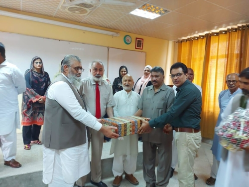 Retirements of Dr. Muhammad Mutahir Iqbal (5-08-2020)
